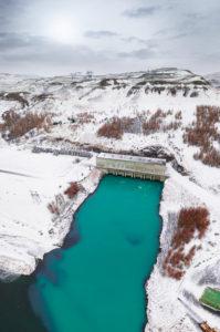 Burfellsvirkjun Hydro Power Plant, Thjorsardalur, Iceland