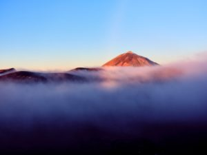Landscape photography in the Teide National Park on the island of Tenerife, Canary Islands, Spain