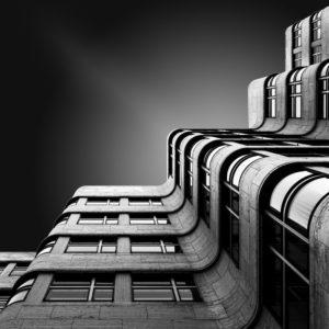 Berlin, Shell Haus, Fineart Architekturaufnahme
