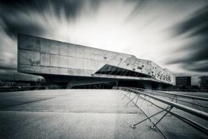 Langzeitbelichtung Phaeno in Wolfsburg