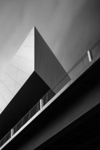 Phaeno abstractly, Wolfsburg, architecture shot