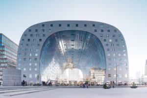 Markthalle Rotterdam, Außenaufnahme