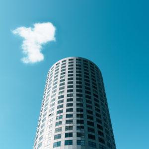 Minimalistische Architektur, Rotterdam, Hochhaus