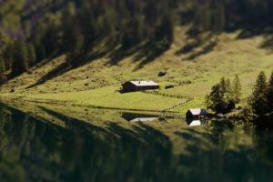 Almhütte am See, Obersee