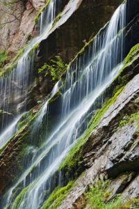 Wimbachklamm, gorge, detailed view, Berchtesgaden National Park,