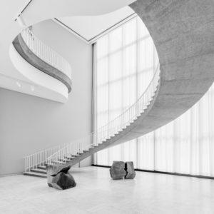 Treppe im Art Institute of Chicago