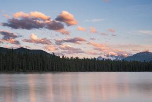 Sunset Lake Annette, Jasper National Park, Canada