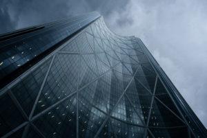 High-rise 'The Bow', Calgary, Canada,