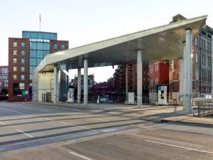Hydrogen filling station in Hamburg, Germany, Europe