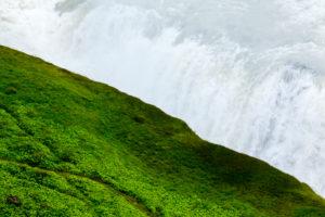 Gullfoss waterfall in summer, Iceland