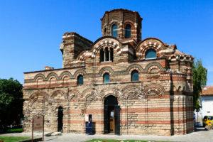 Pantokrator Church in Nessebar, Bulgaria