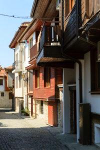 Houses in Nessebar, Bulgaria