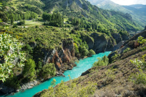 New Zealand, Kawarau River bei Queenstown