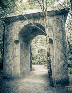 New Zealand, Rivendell in Kaitoke Regional Park, Gate,