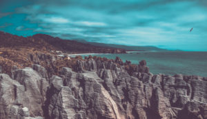 New Zealand, Paparoa National Park, Pancake Rocks, Rock Formations, Tasman Sea, Rocks by the Sea