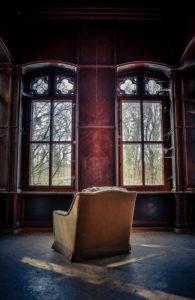 Der einsame Platz am Fenster
