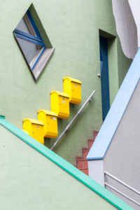 Bremen, stairs, entrance, access, digitally arranged