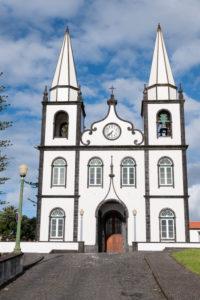 church Madalena, black and white, Pico