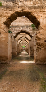 Granary and stables of Moulay Idriss