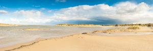 wide beach
