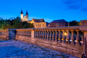 Germany, Saxony-Anhalt, Magdeburg, Monastery of Our Lady of the Blue Hour, Magdeburg.