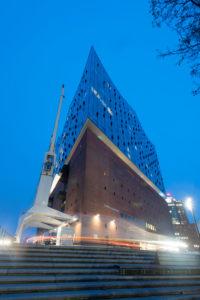 Deutschland, Hamburg, Elbphilharmonie in Hamburg, Hafen-City, Speicherstadt.