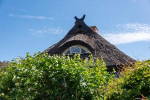 Blaue Scheune in Vitte, Insel Hiddensee