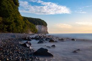 Germany, Mecklenburg-Western Pomerania, Sassnitz, chalk cliffs, Wissower Klinken, Jasmund National Park, Unesco World Heritage Site, Baltic Sea