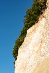 Germany, Mecklenburg-Western Pomerania, Sassnitz, chalk cliffs, Wissower Klinken, trees stand on the precipice, Jasmund National Park, Unesco World Heritage Site, Baltic Sea