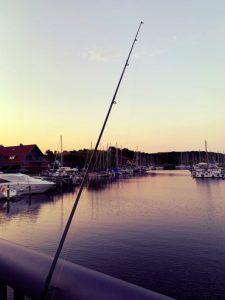 Angel und Seglerhafen