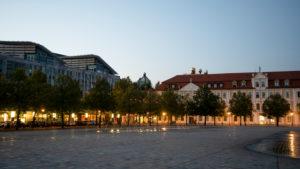 Germany, Saxony-Anhalt, Magdeburg, Norddeutsche Landesbank, Hundertwasserhaus Green Citadel, State Parliament of Saxony-Anhalt
