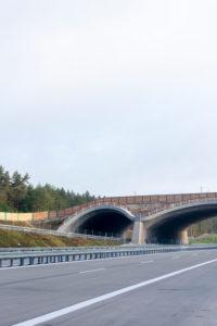 Deutschland, Sachsen-Anhalt, Colbitz, Wildtierbrücke, Autobahn 14, Neubau der A14 Nordverlängerung, Straßenbau
