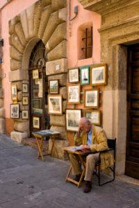 Gallery in Sorano, Tuscany