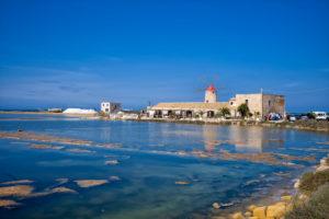 Saline in Trapani, Sicily