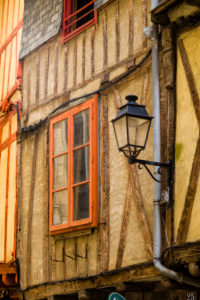 Truss in the old town of Vannes