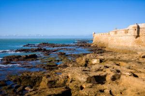 Cádiz, Castillo de San Sebastián