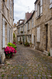 Senlis, old town