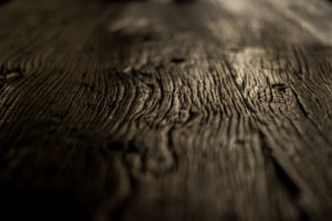 Close-up of a wood grain