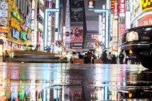Nightlife in Tokyo
