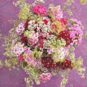 Ländlicher Blumenstrauß