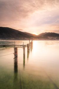 Sonnenaufgang am Tegernsee