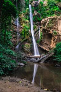 Nord-Thailand, Dschungel, Wasserfall