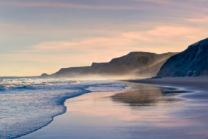 Portugal, the Algarve, Praia do Castelejo, the Costa Vicentina in the early morning light