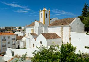 Portugal, the Algarve, Tavira, the Igreja Matriz church