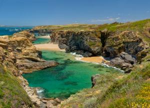 Porto Covo beach, praia do cerro de água, the Alentejo, Portugal