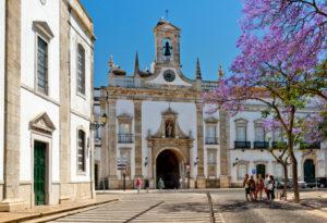 Arco da Vila, Faro, Algarve, Portugal
