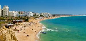 Armacao de Pera resort, the Algarve, Portugal