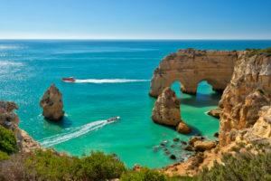 Praia da Marinha, Armacao de Pera, Algarve, Portugal