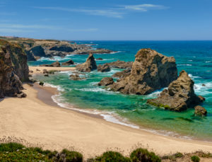 Praia da Samoqueira, Porto Covo, the Alentejo coast