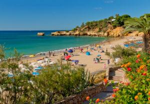 Portugal, the Algarve, Praia de Santa Eulália, near Albufeira